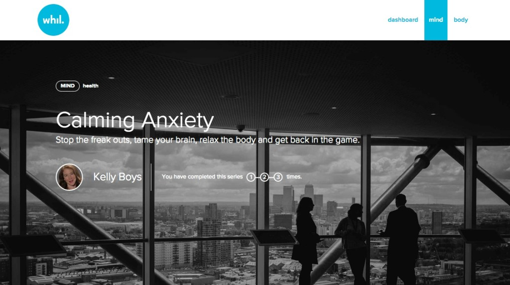 Kelly Boys Calming Anxiety Series View