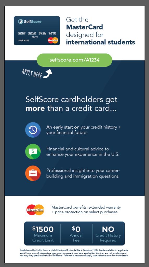 SelfScore flyer